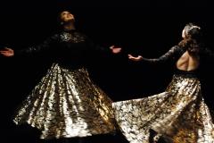 Mona and Tahirih Twirling